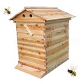 China wholesale wax wooden bee hive frame with low price