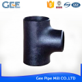 GEE ASTM cs reducing tee forged tees customized size for pipe fittings