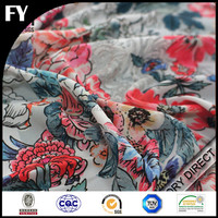 Factory direct digital print fabric material for making dresses