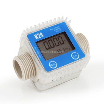 "K24 1"" BSP/NPT digital flow meter"