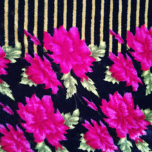 100% Polyester Material and Warp Knitted Type print fabric and textile warehouse