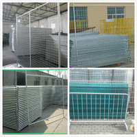 Galvanized Portable Welded Mesh Temporary Fence Panel Hot Sale( Factory directly)