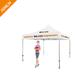 Custom printed waterproof fireproof 10x10 canopy tent