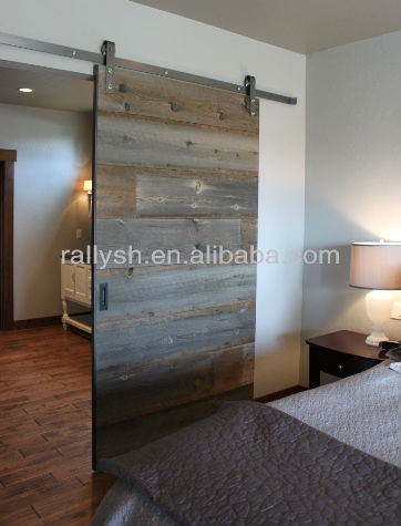 Widely used cheap steel sliding barn wood door closet for Cheap sliding barn doors