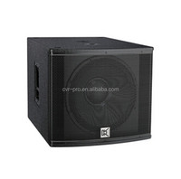 18 inch passive sub bass system china dj equipemnt+cheap home audio subwoofers