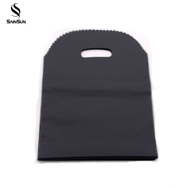 Matte Black Plain Pp/Pe Gift Package Advertising Materials Plastic Bags With Printed Logo