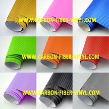 Car Styling High Quality Car Stickers And Decals 3D Carbon Fiber Sheet Film Vinyl Car Sticker Parking