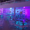 Remote control under table led light for wedding decoration and light up furniture