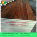 LOW PRICE MELAMINE PLYWOOD WITH WALNUT COLOR