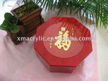 acrylic plastic gift packing box
