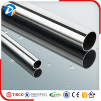 China good supplier 201 8K finish stainless steel pipe /tube