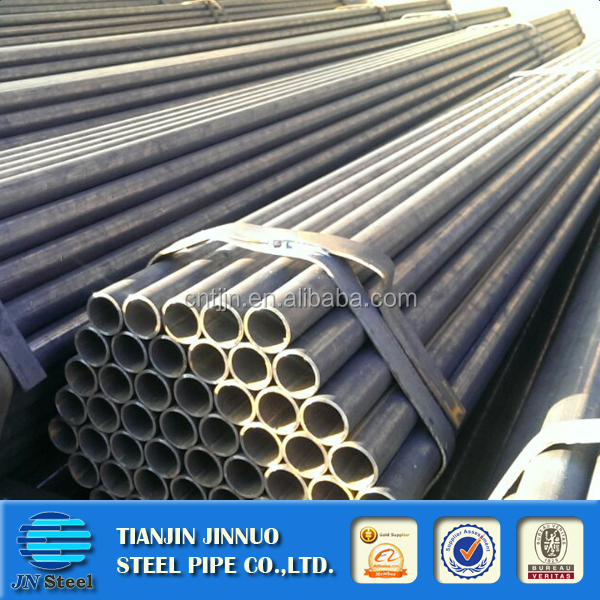 steel pipe wall thickness 2mm 120mm black welded steel pipe erw carbon steel pipe