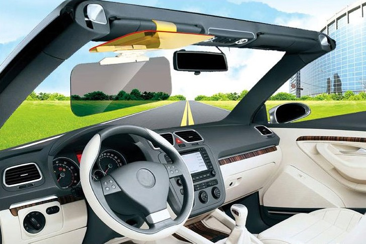 day and night anti-glare car sun visor Quality