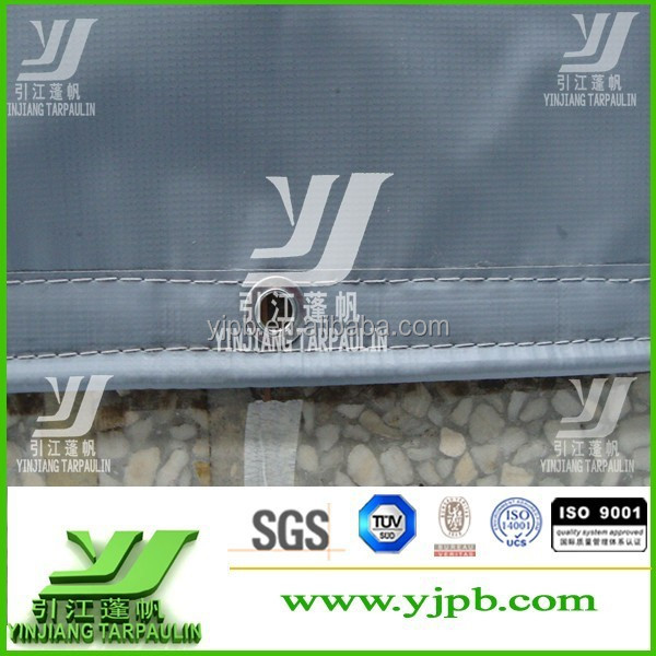 1000*1000D,20*20 Tear-Resistant and UV-protection stock pvc tarpaulin