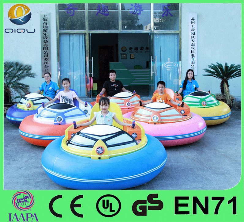Battery Powered Kis Race Bumper Cars , Cheap Amusement Adult Dodgem Cars ,The Newest Fun Motor Electric Bumper Car for Sale 2016