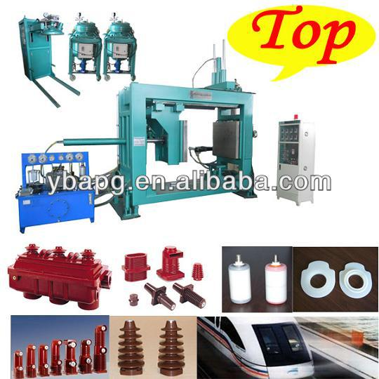 legrand mcb circuit breaker epoxy resin silicone rubber moulding injection machine in YIBO