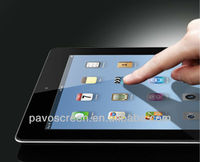 Pavoscreen whole transparency tempered glass screen protector for ipad/ ipad mini