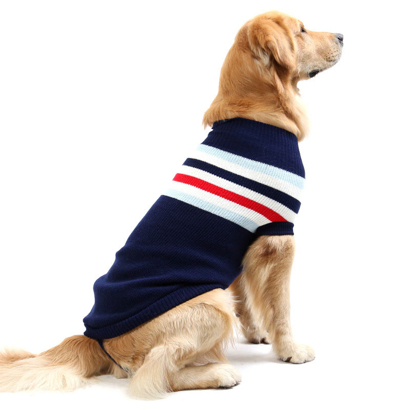 medium large stock pet clothes knitting pattern dog sweater for winter