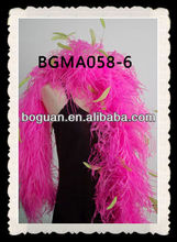 Wholesale Pink&Yellow Green Ostrich Feather Boas