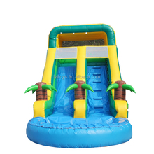 Hot sales happy hop inflatable water slide,guangzhou inflatable dry slide