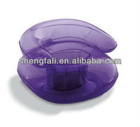 Transparent pvc inflatable chairs /single sofas