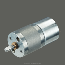 DC motor with gearbox 12v dc gear motor Scanners long-lasting mini electric motor CE ROHS SGS GM25-320SH 12V