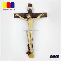Decorative Custom Hanging Jesus Crucifix Souvenir Crosses Religious