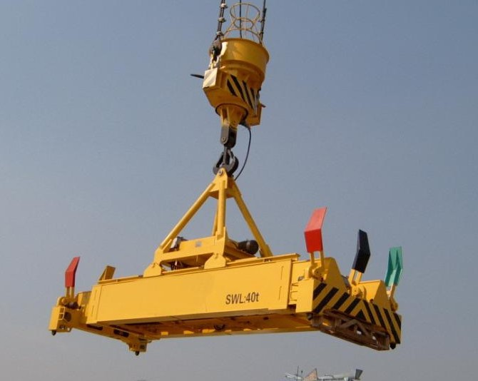 Container Gantry Cranes Used In Port Lift 20ft Container 40ft Container.jpg