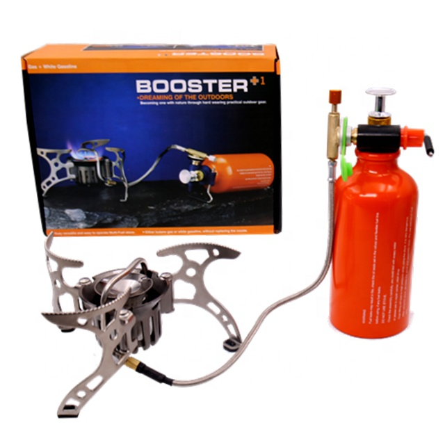 Portable multi-fuel burner camping stove brs-8