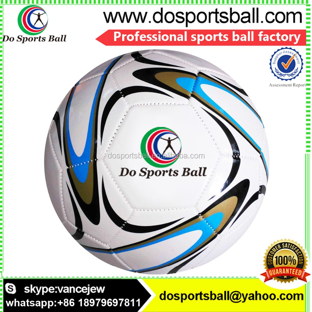 Size 5#, 4#, 3#, 2#,1# Machine Sewing PVC Leather Custom Soccer Balls