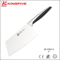 "Stainless steel 5Cr15 7"" cutter cleaver knife"