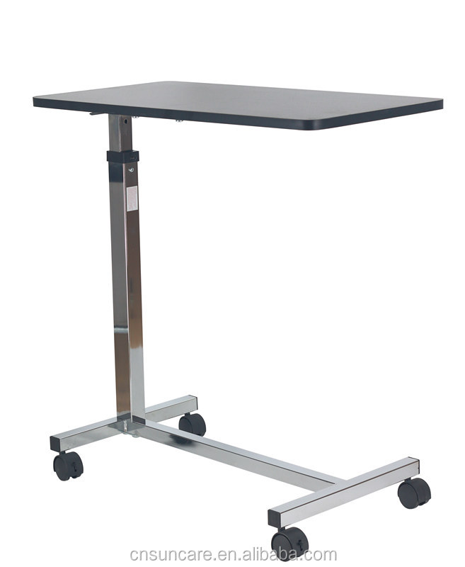 Gas-spring working Hospital Overbed Table SC-OT05