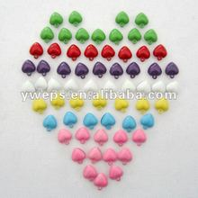2cm Color Heart Bell