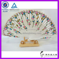 Wood Carved Flowers Wholesale Gift Fans