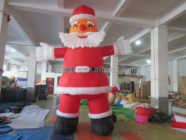 giant inflatable santa claus for Chirstmas