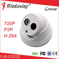 Dome IP Camera Indoor HD 720P for Security System YJS-C0222