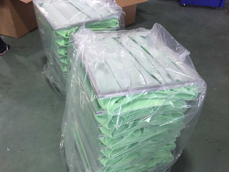 Good price clean room customized size primary ahu bag filter