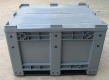 heavy-duty plastic container mega bins box pallet