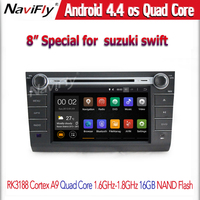 suzuki swift 2004 2005 2006 2007 2008 2009 2010 Car Audio Multimedia player hot selling for Android4.44 Quad-Core with 1024x600