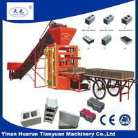 New type cement bricks machinery QTJ4-26 small scale industries machines for concrete blocks
