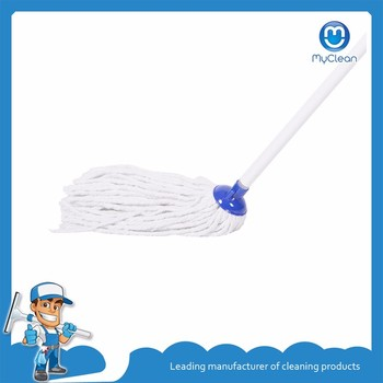 round cotton thread floor cleaning mop for sale