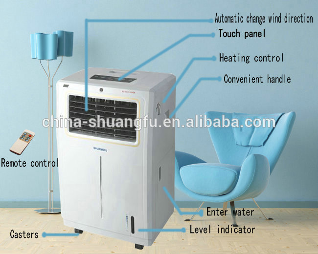 Air Cooler Vs Air Conditioner : Room air cooler evaporative water cooling fan portable