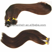 New! wholesale cheap Fashion Single Strand Straight Colored Synthetic Hair Extensions