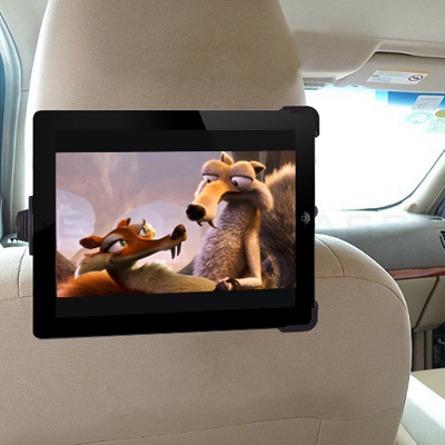 Backseat Headrest Amount Holder for iPad 1 2 3th XOOM Samsung Galaxy Tab DVD Table PC Car Holder
