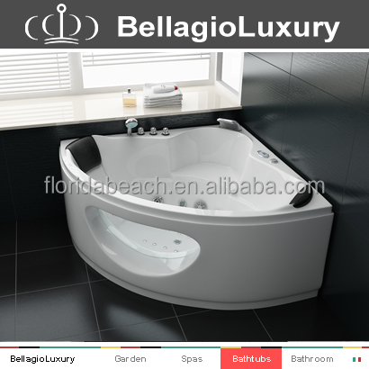 Small acrylic bathtub adult portable bathtub spa whirlpool for Best acrylic bathtub to buy