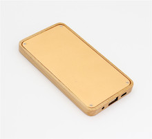 2017 Hot Selling Products 4000mah Slim Wooden Power Bank