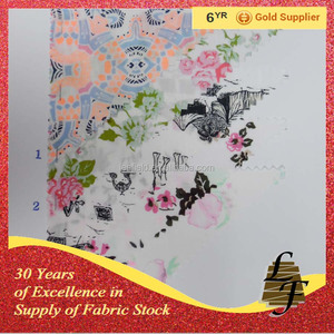 cheap textile in fabrics cotton printed fabrics stock P6412-A16030209
