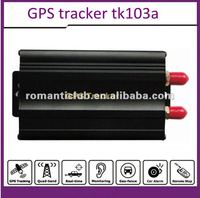 Portable gps car tracker tk103 with accident/movement alarm