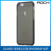 High quality ROCK Guard Series soft TPU clear case for iphone 6 6s Shockproof TPE shell protective Phone back cover