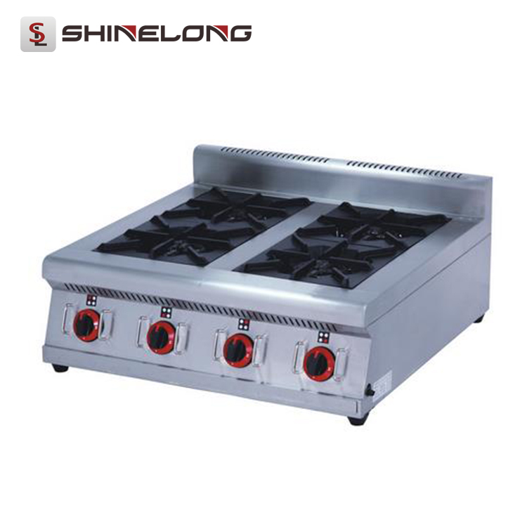 With Good Price industrial commercial Restaurant equipment gas stove Countertop Wok & Stove